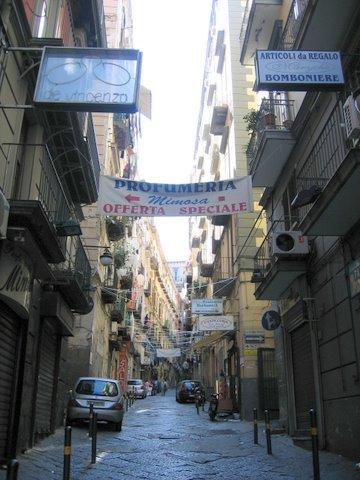 Street in Napoli