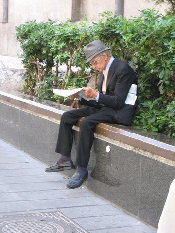 Old man Naples